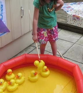 We are holding a summer fete in July, including, yes you guessed it.... fishing for ducks. Wheelchair friendly!
