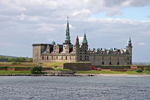 Hamlet's Castle in Helsingore, Denmark