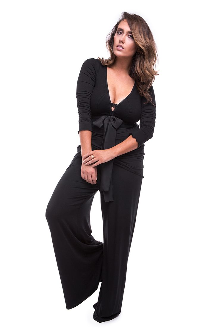 Chill Out Wide Leg Pant Black by My Cup Runneth Over, Sydney.