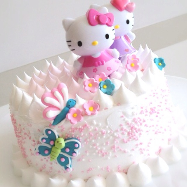 38 Best Hello Kitty Cakes Images On Pinterest Cake