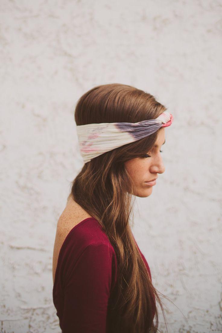 DIY: urban tie-dye headband