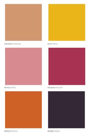 Tendances : Évoquant la nature, mélangeant tons de peaux et couleurs fleuries la gamme EXOTIQUE brouille les codes du féminin et du masculin. (#564107)