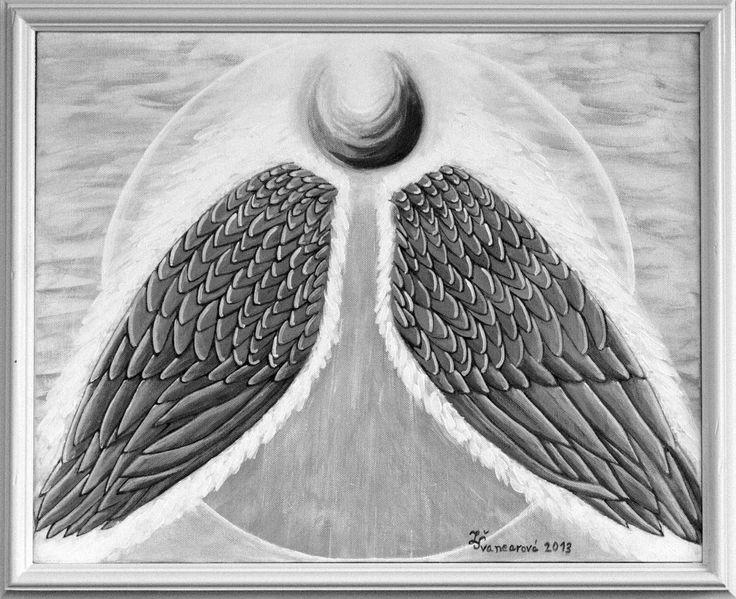 SLUNEČNÍ - akryl na plátně - 40x50 - prodán