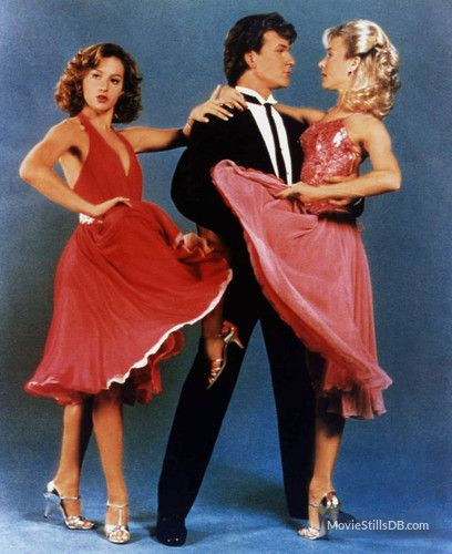 Dirty Dancing - Promo shot of Jennifer Grey, Patrick Swayze & Cynthia Rhodes