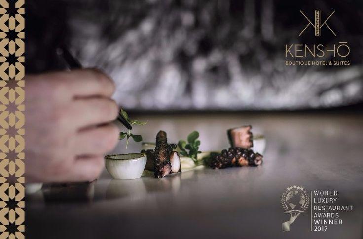 Kenshō Fine Dining Restaurant Wins Global Award for 'Best Food Styling/Presentation'.