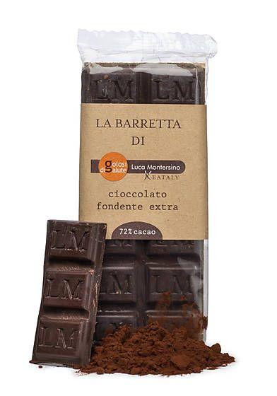 GOLOSI DI SALUTE DARK CHOCOLATE BAR