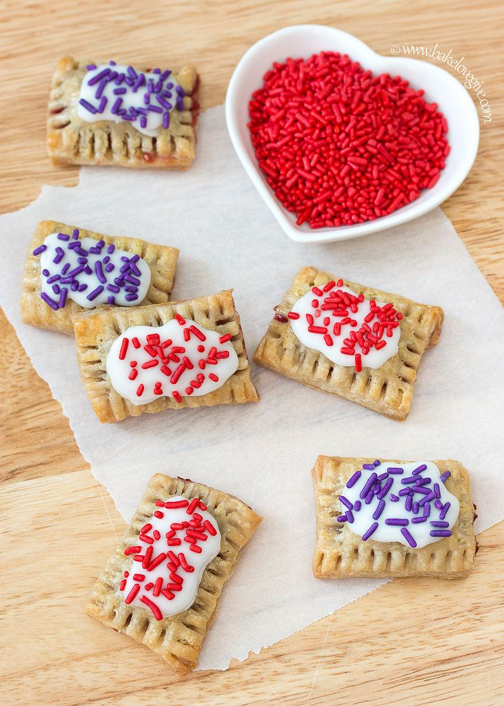 cute mini pop tarts for breakfast on valentines day valentines sweets royal icing - Valentines Sweets
