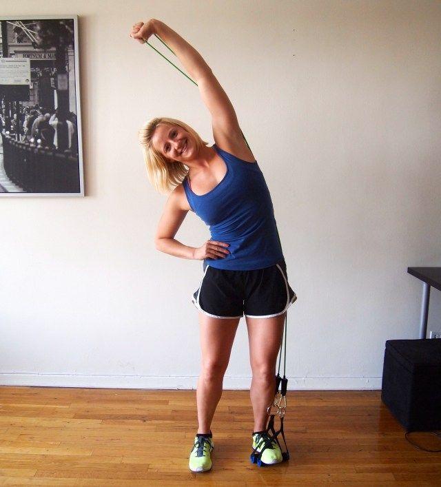 Best 25+ Resistance Tube Workout Ideas On Pinterest