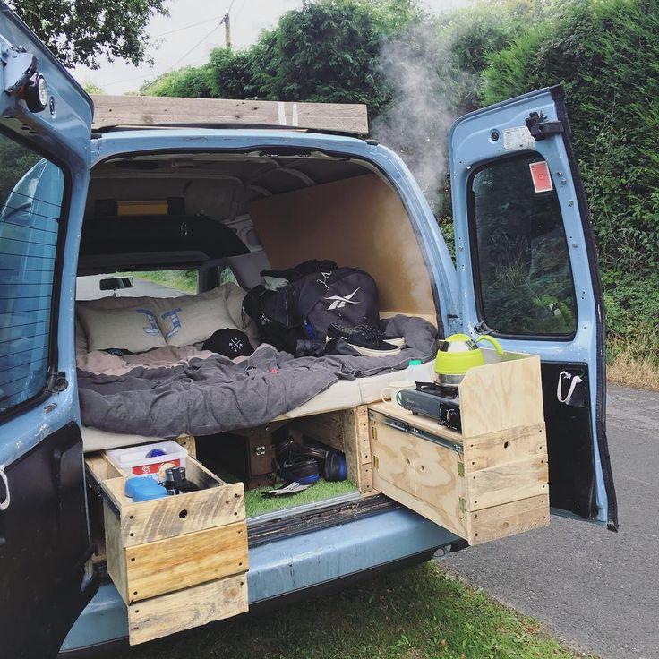 caddy conversion vw caddycamper micro camper
