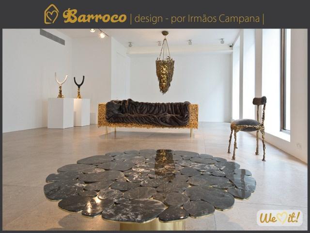 Barroco brasileiro - Irmãos Campana #barroque #design #campana