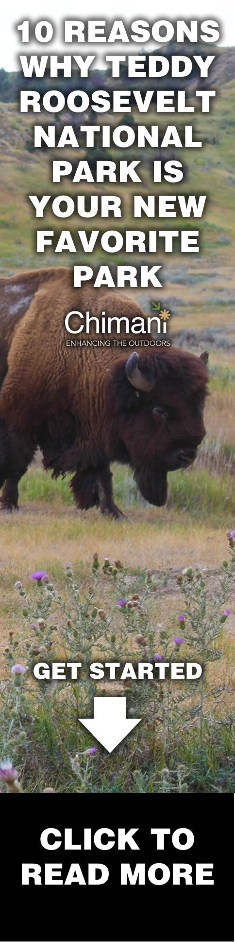 10 Reasons Why Teddy Roosevelt is Your New Favorite Park - Chimani sought help from its team of ambassadors to photograph, video, and write about what they love about their favorite national park. Below is from Callie Klinkmueller on Teddy Roosevelt National Park.
