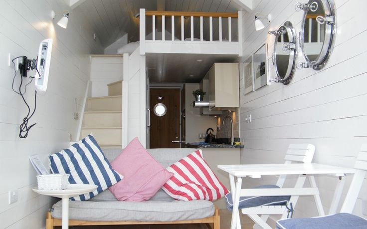 Inside Britains most expensive Beach hut