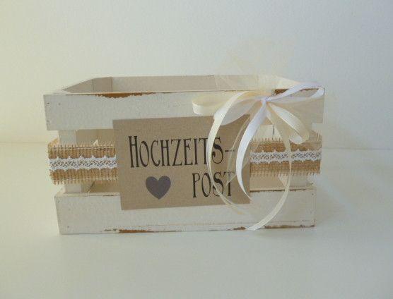 Wedding Decor – Card Box Wedding Gifts Wedding Pin – a unique product by Deko-und-Papier on DaWanda – #bei #DaWanda #DekoundPaper #De …
