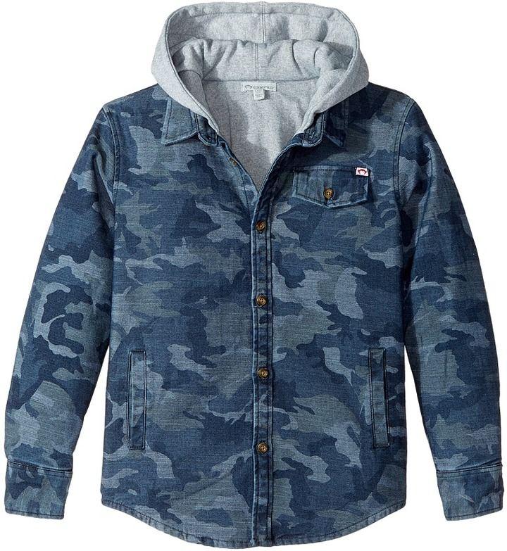 Appaman Kids Glen Full Lined Hooded Flannel Sweatshirt (Toddler/Little Kids/Big Kids)