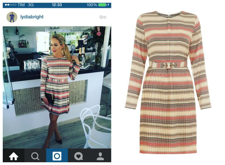 Lydia Bright indossa abito Darling London #darlingclothes #darlingmood #london