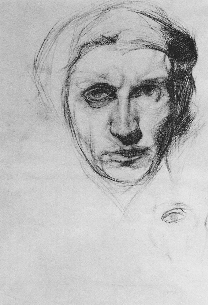 Мир Врубеля. Автопортрет. 1883 г.