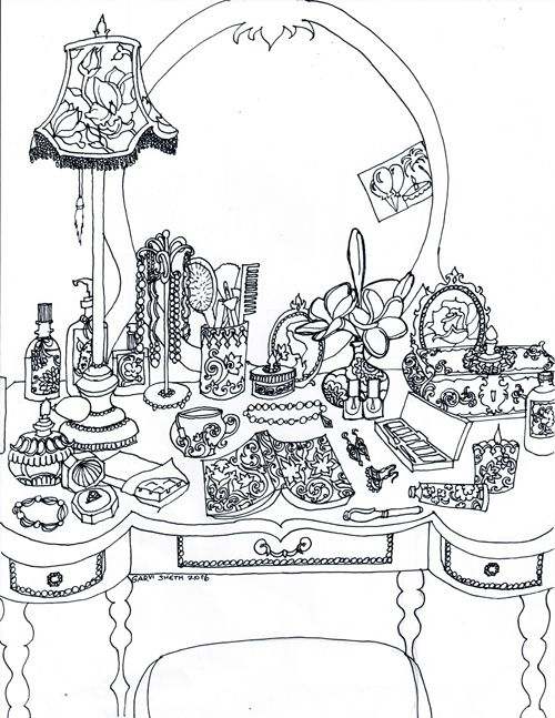 Cute Coloring Pages For Relaxing Rooms