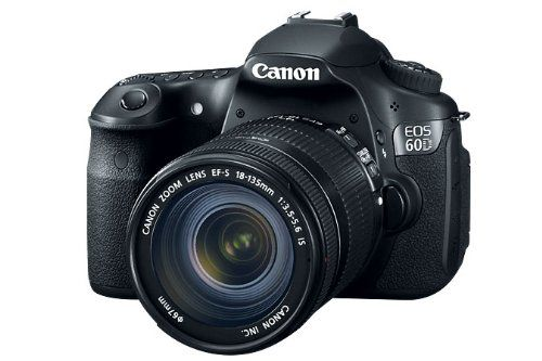 Canon EOS 60D 18 MP CMOS Digital SLR Camera with 3.0-Inch LCD and 18-135mm f/3.5-5.6 IS UD Standard Zoom Lens $1199.00