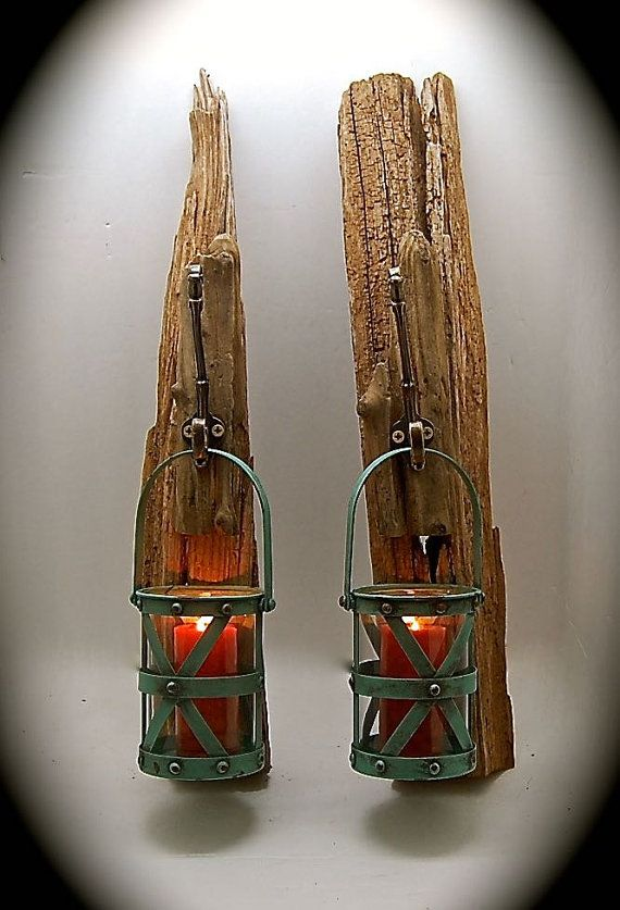 Wall Sconce Hanging Hardware : 10 Best ideas about Industrial Candles on Pinterest Rustic industrial decor, Lamp ideas and ...