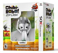 Chibi-Robo! Zip Lash comes to the Nintendo 3DS system with a fresh, new take on the franchise. In this side-scrolling game, Chibi-Robo uses his plug and cord to whip enemies, grapple onto ledges, and swing across chasms. Power-up the plug and cord to search for collectables and explore previously out of reach areas.