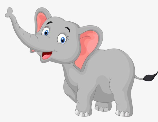 A Baby Elephant Pictures Elephant Cartoon Images