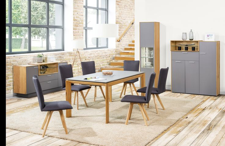 Arcus collection from Klose. #KloseFurniture #woodentable #moderndiningroom
