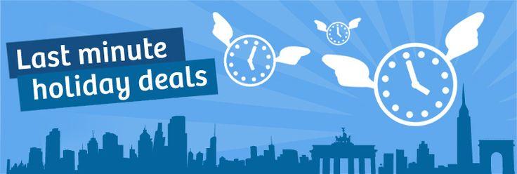 Last Minute Holidays: late holiday deals, last minute hotel deals, last minute flights & more