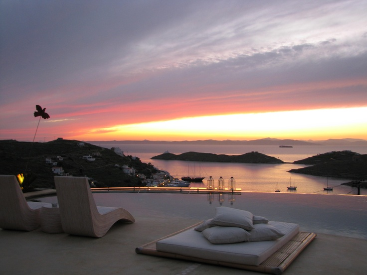 Aigis Suites in Kea, Cyclades, Greece.
