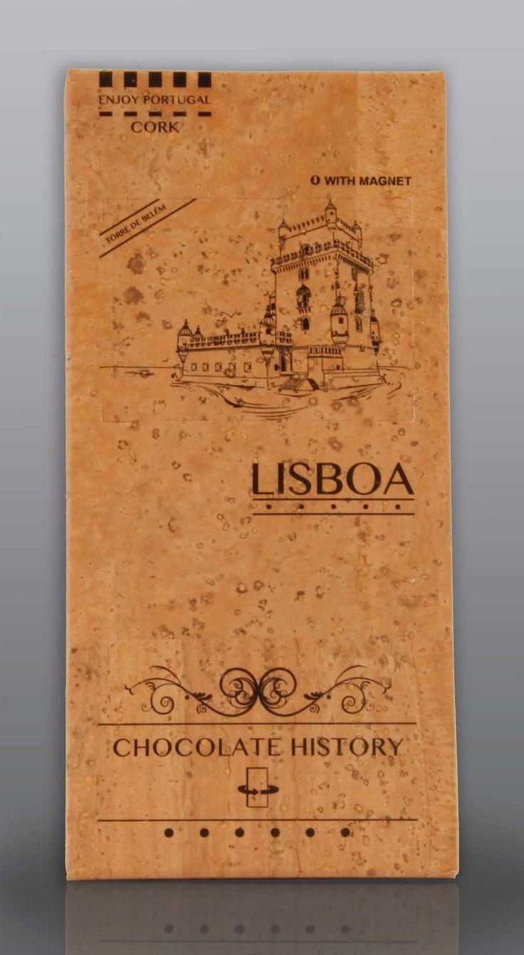 Lisboa | Torre de Belém  | Chocolate Negro 48% Cacau 125 g