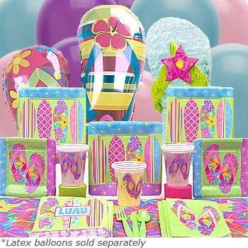 Flip Flop summer party theme