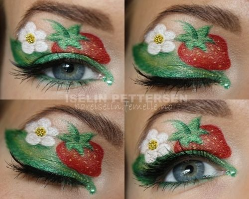 Strawberry Makeup Bareiselin Makeup Looks We Heart It Makeup