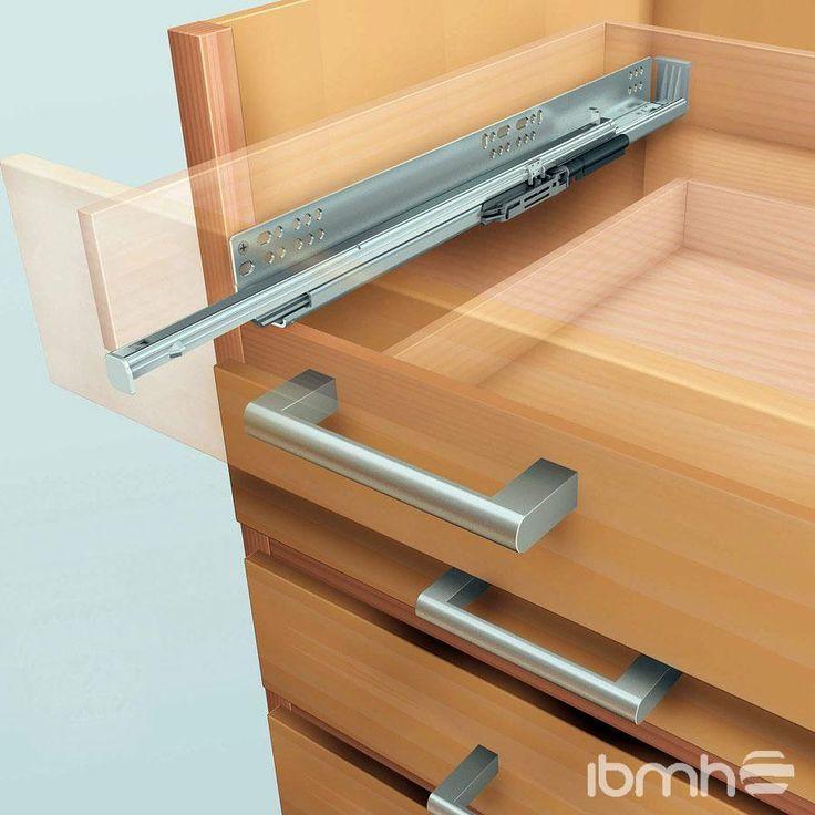 8 best blum hardware images on pinterest kitchens - Railes para cajones ...
