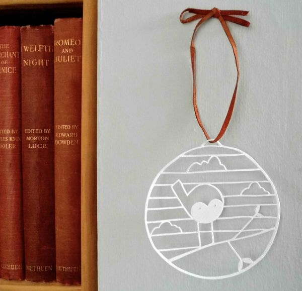 In This Tutorial Youll Learn How To Make A Sweet Papercut Bauble Perfect For Hanging Your Window Favourite Plant Or On Wall