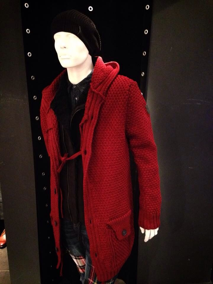 Bordeaux long cardigan aw201415