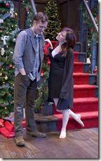 Clive (Steve Haggard) and Belinda (Heidi Kettenring)
