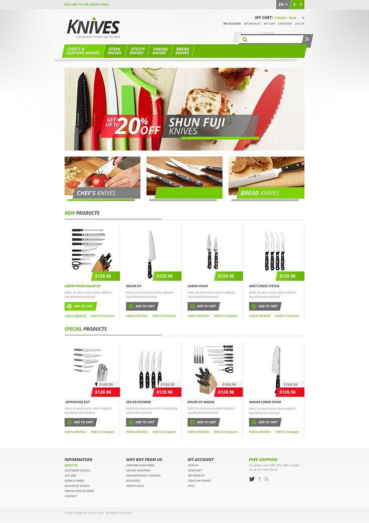 You will love our New Magento design. www.titantemplates.com