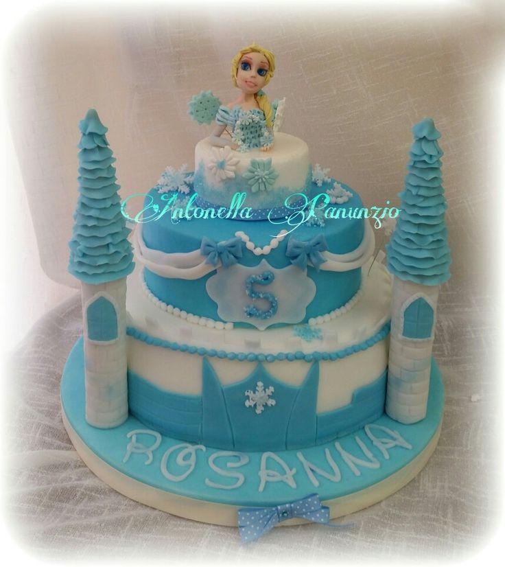 Castello di frozen, Elsa