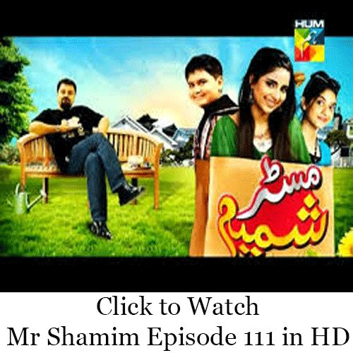 Watch Hum TV Drama Mr Shamim Episode 111 in HD Quality. Watch all previous and latest episodes of Drama Mr Shamim and all other Hum TV Dramas Online