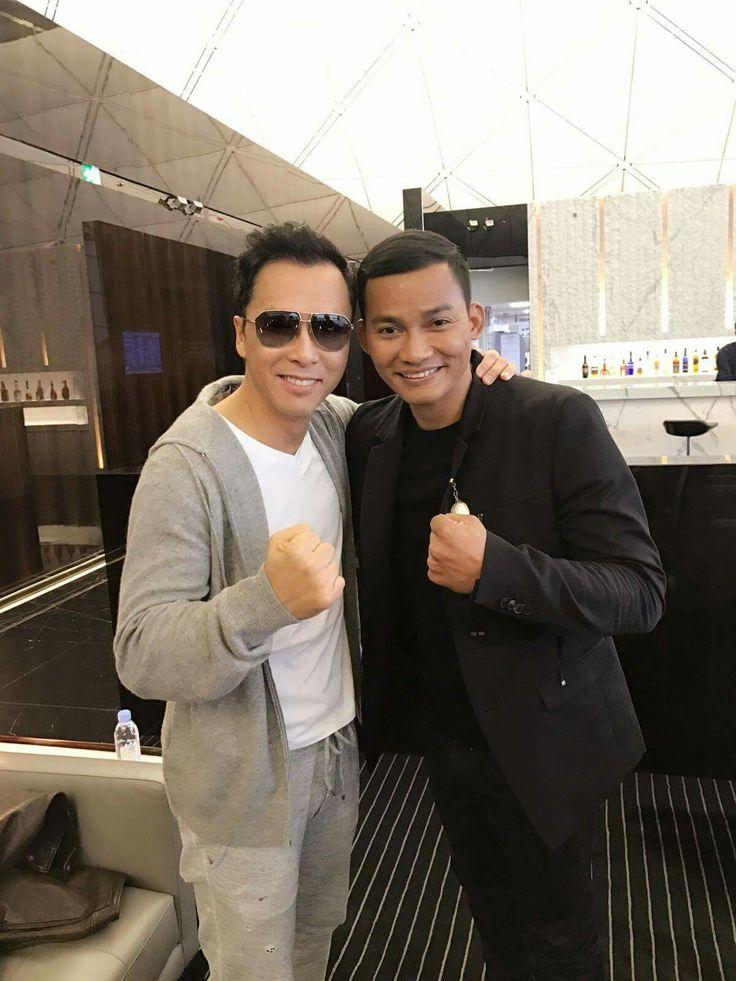 Donnie Yen and Tony Jaa