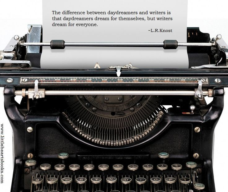 Do you distinguish between the term 'writer' & 'author'?