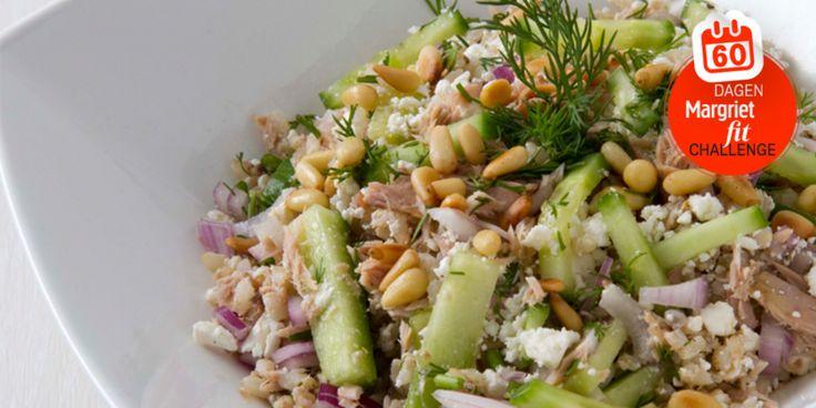 Dag 7 | Recept: rijst met tonijn uit blik Gezonde recepten, Koken, Recepten - Margriet