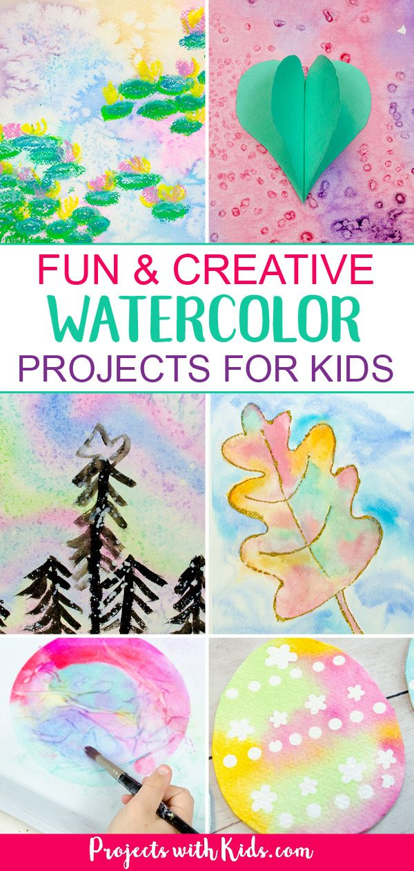 The Most Fun Creative Watercolor Painting For Kids Kids