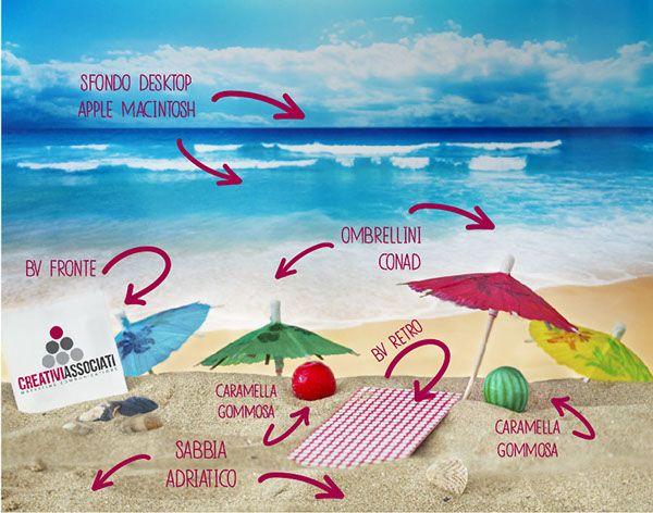 Newsletter estate 2014 by Creativi Associati, via Behance