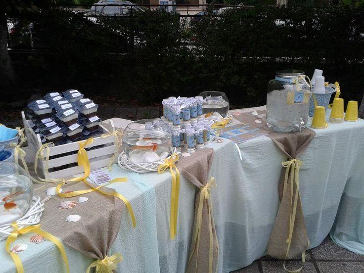 decor table blue