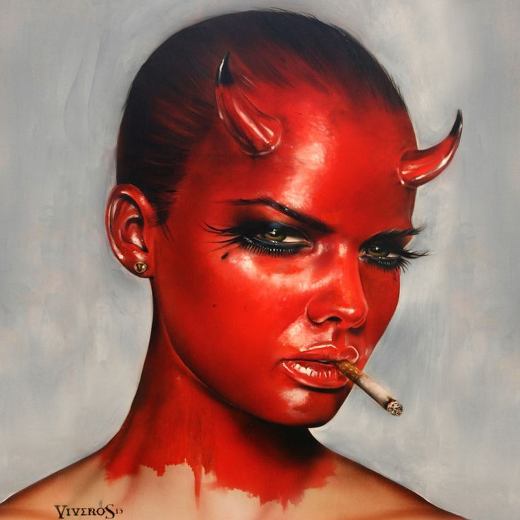 Devil In All Of Us by Brian Viveros | Satan and his ...