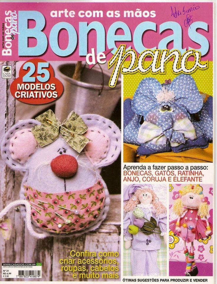 Revistas de manualidades Gratis: Bonecas paso a paso