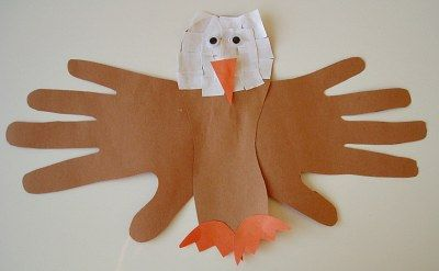"""This little guy would be adorable hanging with the writing from my """"If I Were President"""" packet. I would use real painted handprints...but you knew that didn't you? :) Jodi from The Clutter-Free Classroom"""