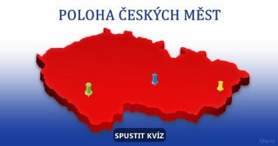 Poloha českých měst