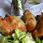 Alette di pollo marinate al miele e zenzero
