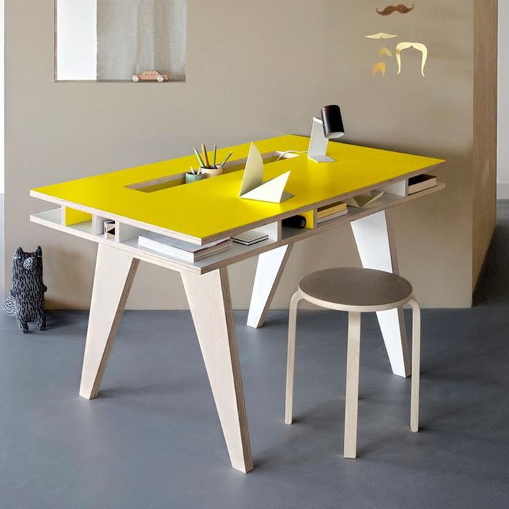 1000 ideas about plywood desk on pinterest plywood plywood furniture and desks. Black Bedroom Furniture Sets. Home Design Ideas